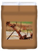 Rusty Tines Duvet Cover