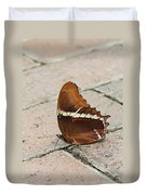 Rusty Tipped Page Butterfly Duvet Cover