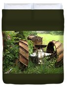 Rusty Tractor 1  Duvet Cover