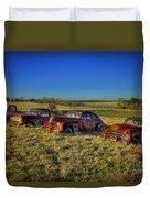Rusty Westward Line Up Duvet Cover