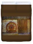 Rusty Wheel Duvet Cover