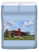 Rutgers Visitor Center Duvet Cover