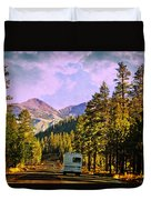Rv And See America Duvet Cover