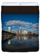 Rva Cityscape Duvet Cover