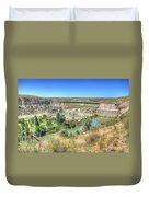 Ryan Dam State Park Duvet Cover