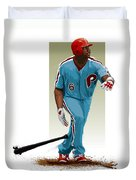 Ryan Howard Duvet Cover