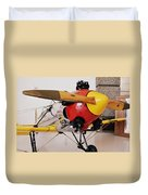 Ryan Pt-22 Recruit Duvet Cover by Michelle Calkins
