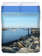 Rye Harbor  Duvet Cover