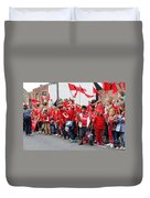 Rye Olympic Torch Relay Duvet Cover