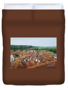 Rye Town Roofs Duvet Cover
