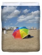 Sa Place Au Soleil / One's Place In The Sun Duvet Cover