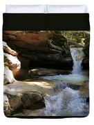 Sabbaday Falls Gorge Duvet Cover