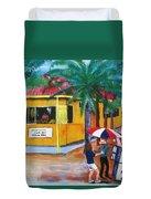 Sabor A Puerto Rico Duvet Cover