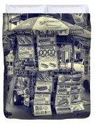Sabrett Vendor New York City Duvet Cover