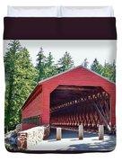 Sachs Covered Bridge 4 Duvet Cover