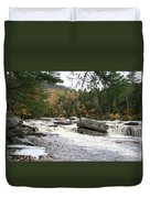 Saco River Rapids North Conway I Duvet Cover