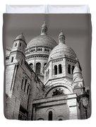 Sacre Coeur Architecture  Duvet Cover
