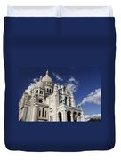 Sacre Coeur Paris Duvet Cover