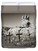 Sacred Cross Duvet Cover