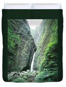 100450-sacred Falls  Duvet Cover