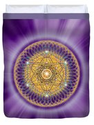 Sacred Geometry 139 Duvet Cover