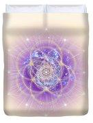 Sacred Geometry 140 Duvet Cover