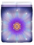 Sacred Geometry 144 Duvet Cover