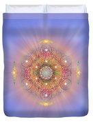 Sacred Geometry 156 Duvet Cover