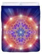 Sacred Geometry 168 Duvet Cover