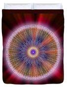 Sacred Geometry 176 Duvet Cover