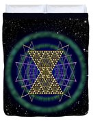 Sacred Geometry 181 Duvet Cover