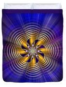 Sacred Geometry 184 Duvet Cover