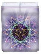 Sacred Geometry 245 Duvet Cover