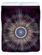 Sacred Geometry 317 Duvet Cover