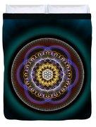 Sacred Geometry 332 Duvet Cover