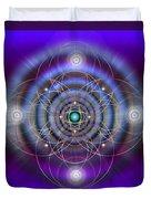 Sacred Geometry 369 Duvet Cover