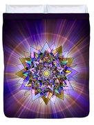 Sacred Geometry 386 Duvet Cover