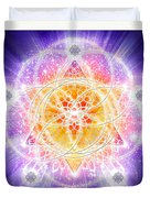 Sacred Geometry 67 Duvet Cover