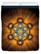 Sacred Geometry 68 Duvet Cover