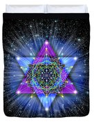Sacred Geometry 70 Duvet Cover
