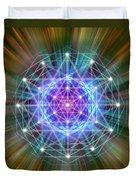 Sacred Geometry 72 Duvet Cover