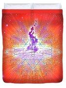 Sacred Geometry 73 Duvet Cover