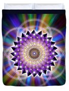 Sacred Geometry 74 Duvet Cover