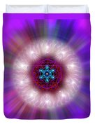 Sacred Geometry 76 Duvet Cover