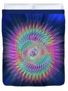 Sacred Geometry 87 Duvet Cover