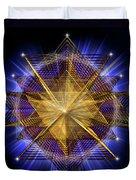 Sacred Geometry 91 Duvet Cover
