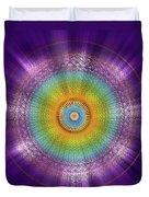 Sacred Geometry 96 Duvet Cover