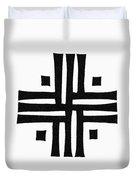 Sacred Roman Cross Duvet Cover