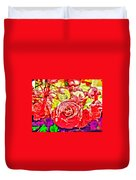 Sacred Roses Duvet Cover