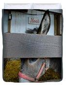 Sad Donkey Duvet Cover